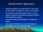 government approach1
