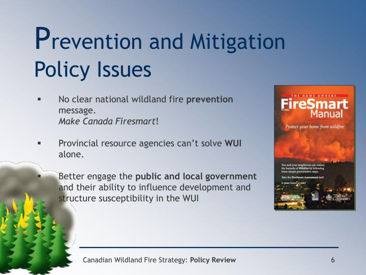mitigation strategies for fire