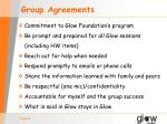 group agreements