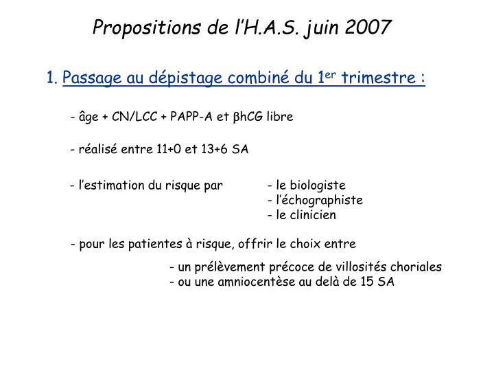 - âge + CN/LCC + PAPP-A et