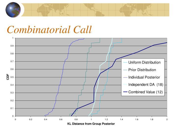 Combinatorial Call