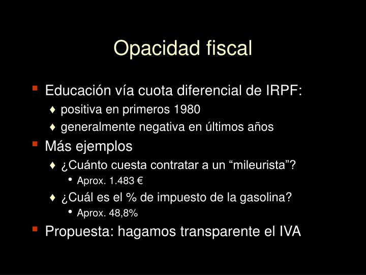 Opacidad fiscal