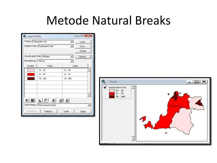 Metode Natural Breaks