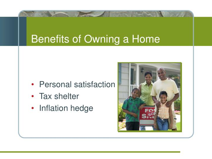 Benefits of Owning a Home