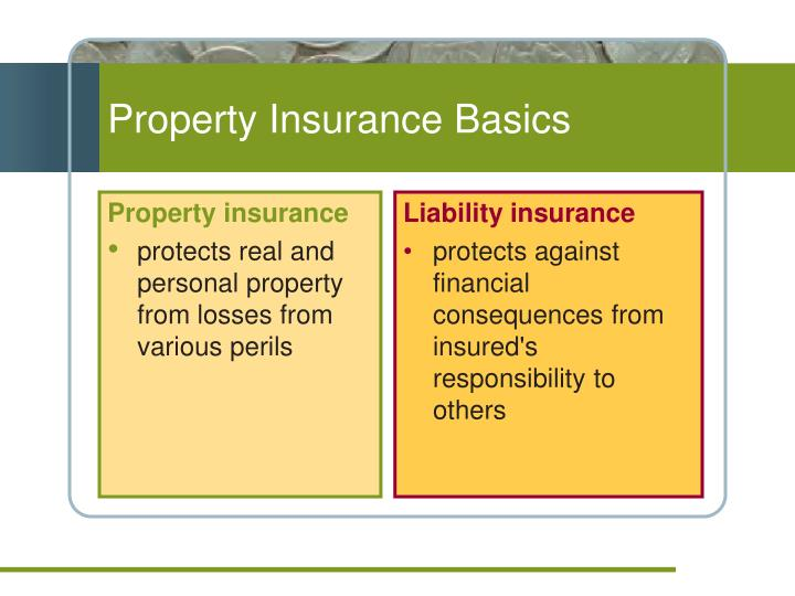 Property Insurance Basics