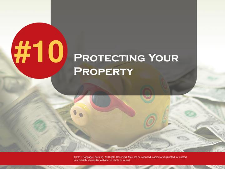 Protecting Your Property