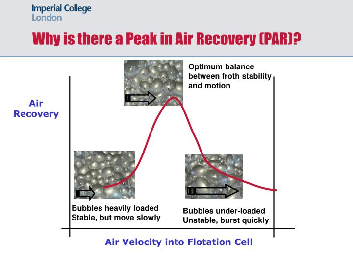 Why is there a Peak in Air Recovery (PAR)?