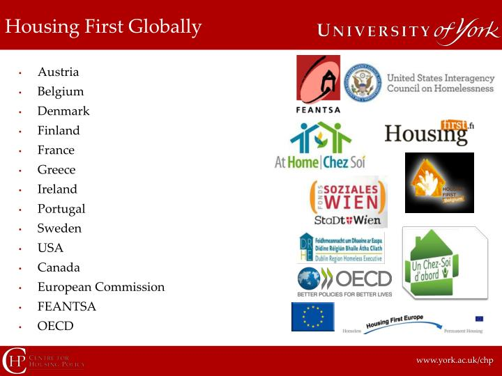 Housing first globally