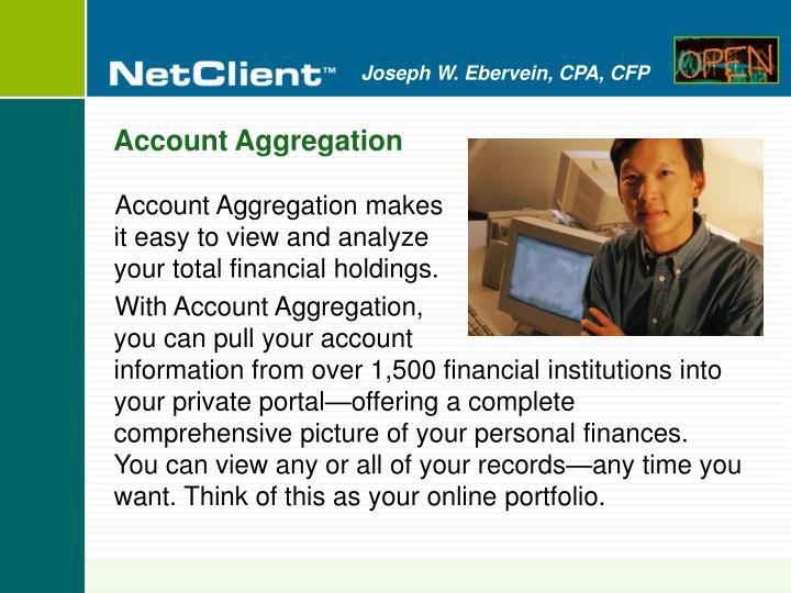 Account Aggregation