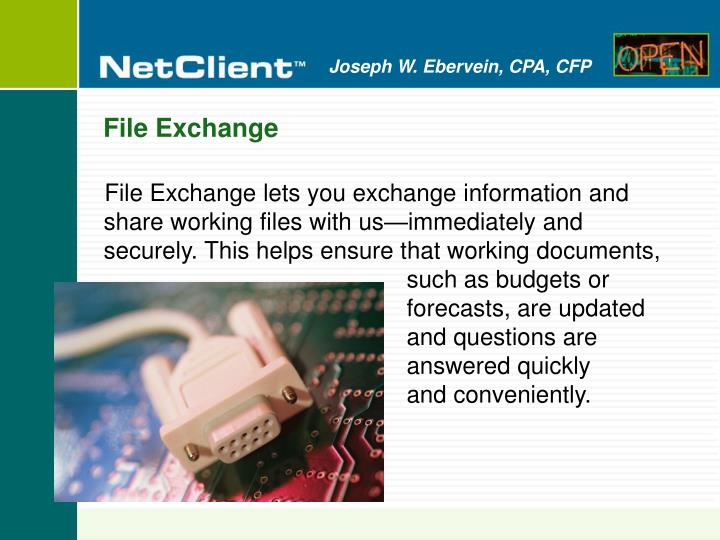 File Exchange