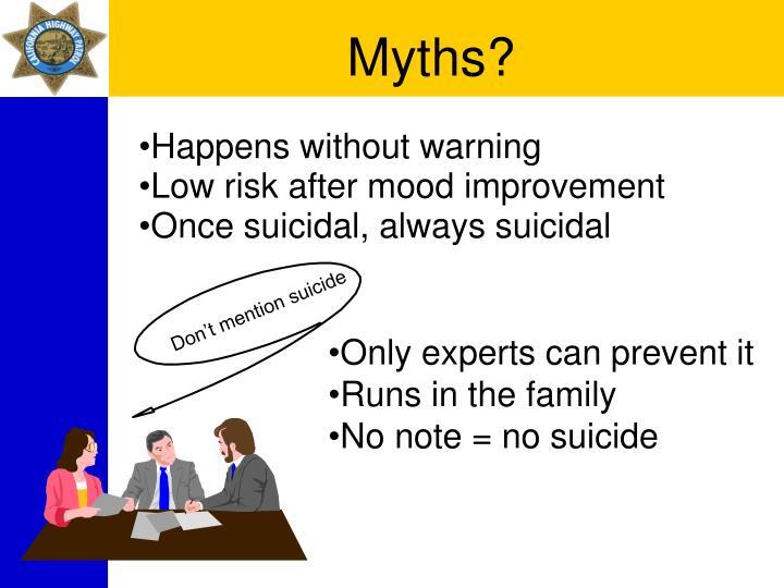 Myths?