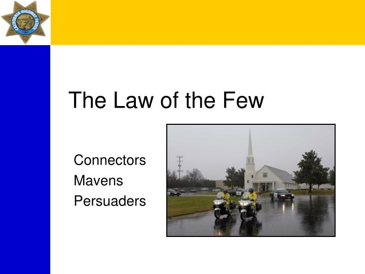 The Law of the Few