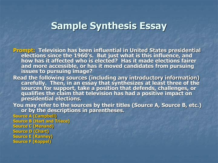makes good synthesis essay Need a topic for an argument essay  retrieved from   fleming  what are some good expository essay topics.