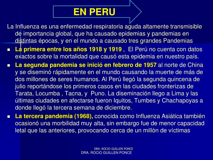 EN PERU