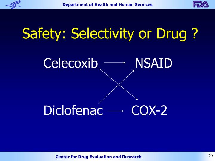 Safety: Selectivity or Drug ?