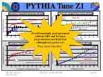 pythia tune z17