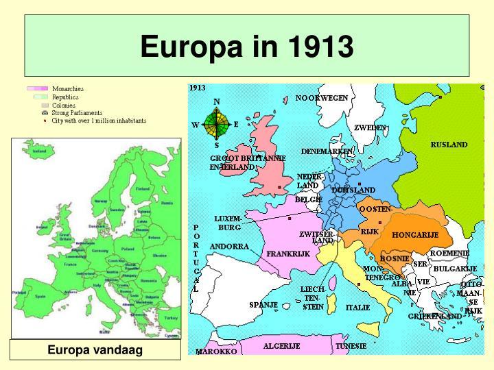 Europa vandaag