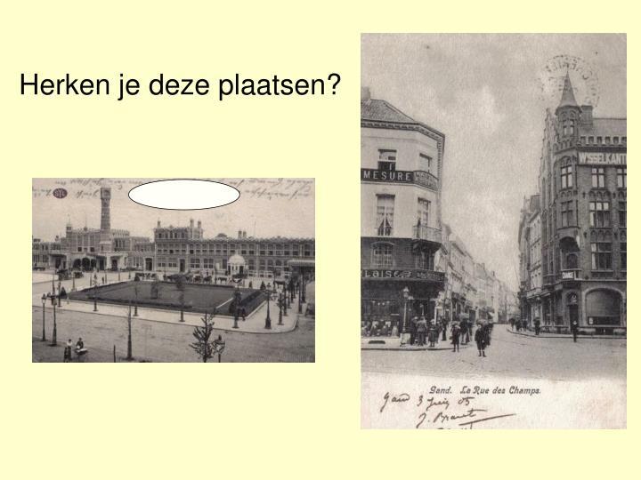 Herken je deze plaatsen?