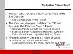the capture process cont3