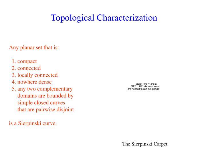 Topological Characterization