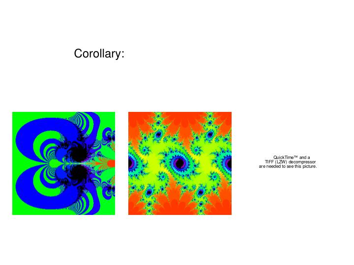 Corollary: