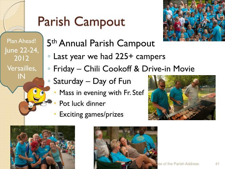 Parish Campout
