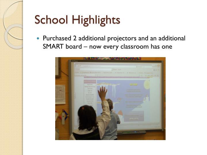 School Highlights