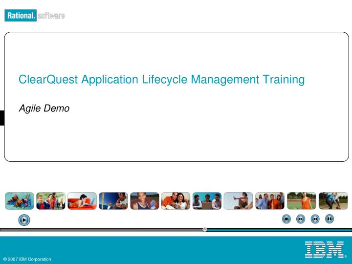 clearquest application lifecycle management training n.