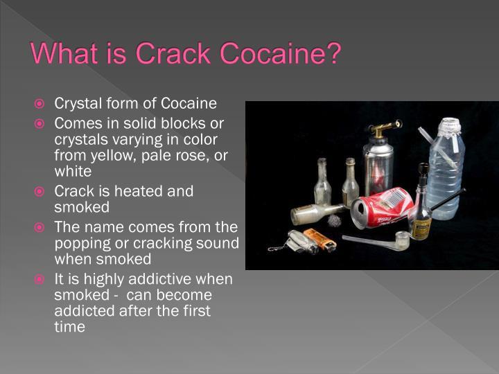 Ppt Cocaine And Crack Cocaine Powerpoint Presentation