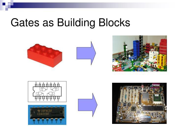 Gates as Building Blocks