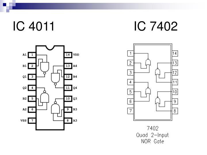 IC 4011     IC 7402