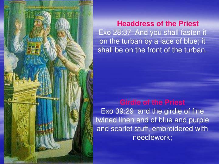 Headdress of the Priest