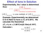 effect of ions in solution2