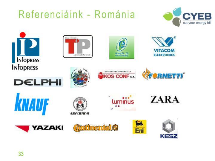 Referenciáink - Románia