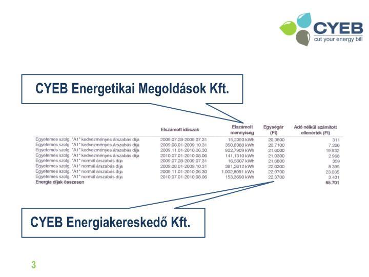 CYEB Energetikai Megoldások Kft.