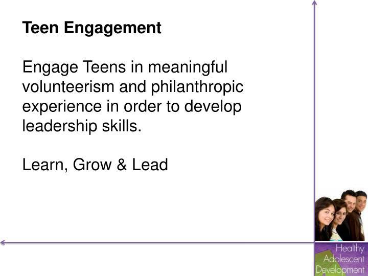 Teen Engagement