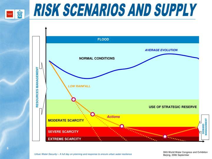 RISK SCENARIOS AND SUPPLY