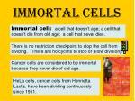 immortal cells
