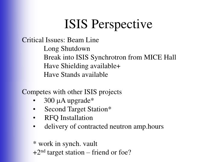 ISIS Perspective