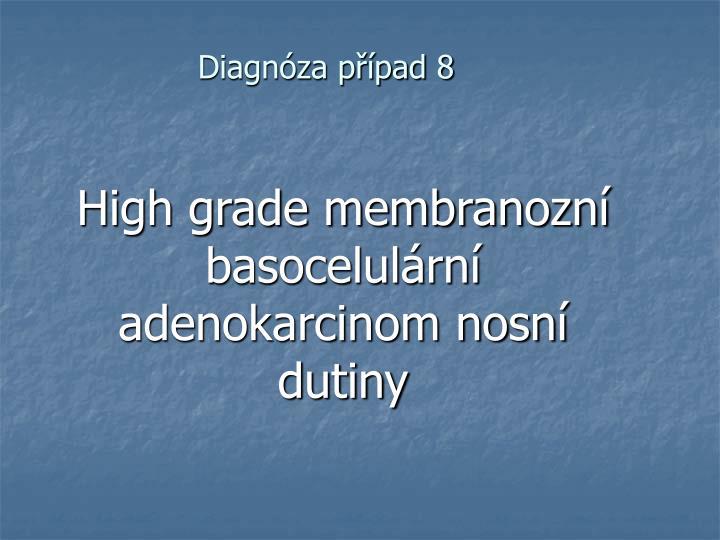 Diagnóza případ 8