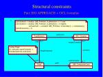 structural constraints1