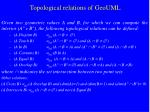 topological relations of geouml1