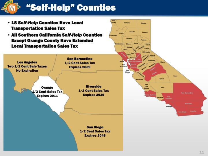 """""""Self-Help"""" Counties"""