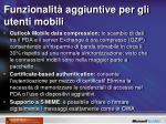 funzionalit aggiuntive per gli utenti mobili2
