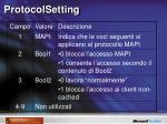 protocolsetting