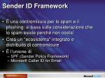 sender id framework