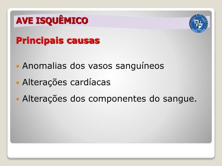 Principais causas
