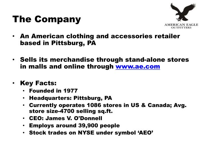 Ppt American Eagle Outfitters Inc Powerpoint Presentation Id
