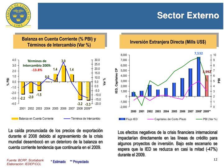 Sector Externo