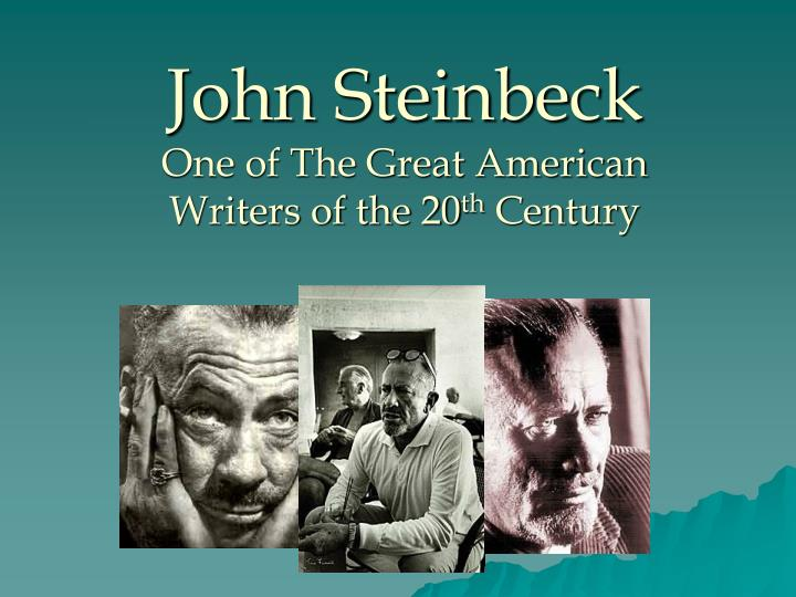 steinbeck essay In the essay by john steinbeck called the chrysanthemums, he was able to give a glimpse to what it was like being a woman and living in a male dominated world the main character elisa is an interesting, intelligent, and passionate woman who lives an unsatisfying, and under stimulated life.